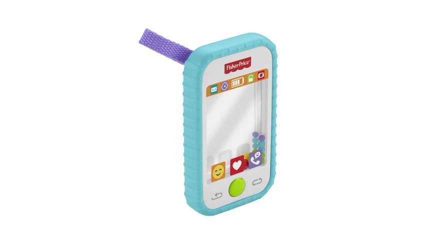 Fisher-Price Selfie Phone, Babyrassel, Spiegel und Beißhilfe