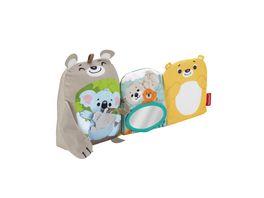 Fisher Price Babys weiches Kuschelbuch Baby Spielzeug Baby Buch Fuehl Buch