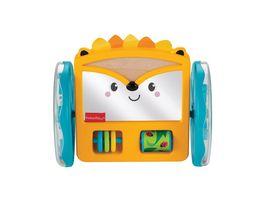 Fisher Price Rollender Igel Spiegel Baby Spielzeug Krabbel Spielzeug