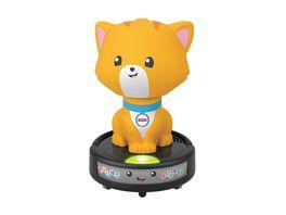 Fisher Price Krabbel mir nach Saugroboter Katze Krabbel Spielzeug Lauflernhilfe