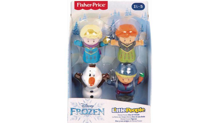 Fisher Price Little People Frozen 4er Pack Figuren