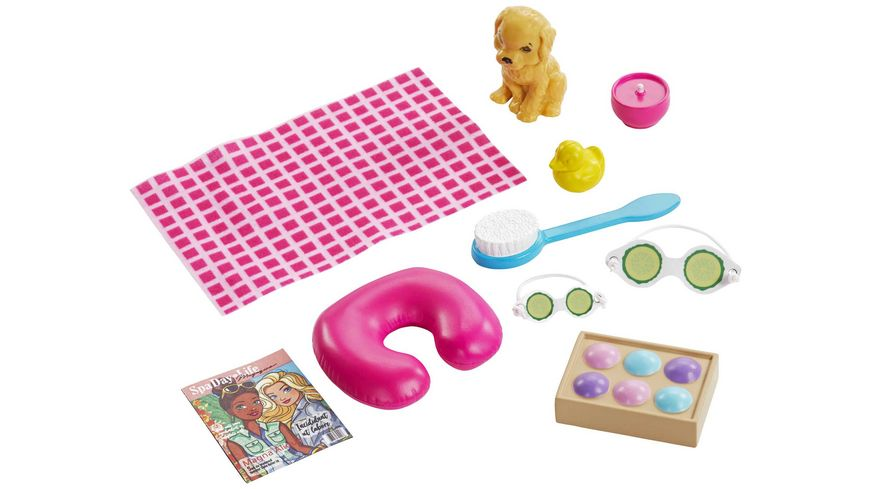 Mattel Barbie Wellness Spa Puppe und Spielset