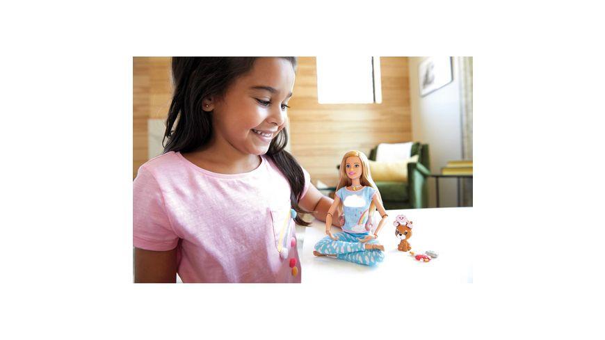 Mattel Barbie Wellness Meditations Puppe blond und Spielset