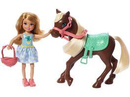 Barbie Chelsea Puppe Pony blond