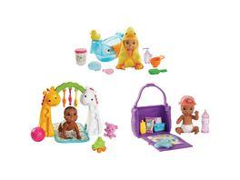 Mattel Barbie Skipper Babysitters Inc Baby Puppe und Zubehoer 1 Stueck sortiert