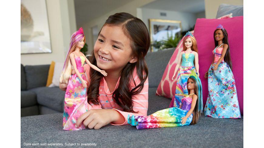 Mattel Barbie Dreamtopia Prinzessinnen Puppe blond und lilafarbenes Haar