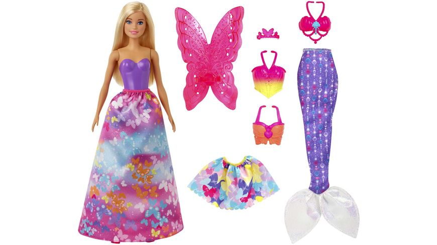 Mattel - Barbie - Dreamtopia 3-in1-Fantasie Spielset (blond)