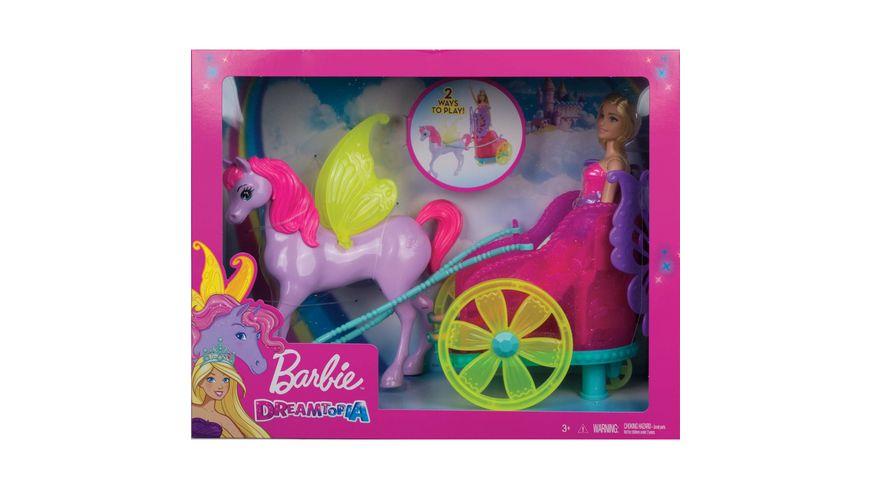 Mattel Barbie Dreamtopia Prinzessin Puppe Pegasus und Kutsche