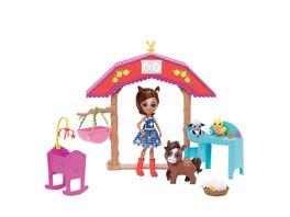 Mattel Enchantimals GJX23 Pferdespass Kindergarten mit Haydie Horse Trotter