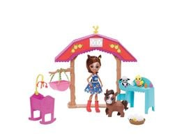 Mattel Enchantimals Pferdespass Kindergarten mit Haydie Horse Trotter