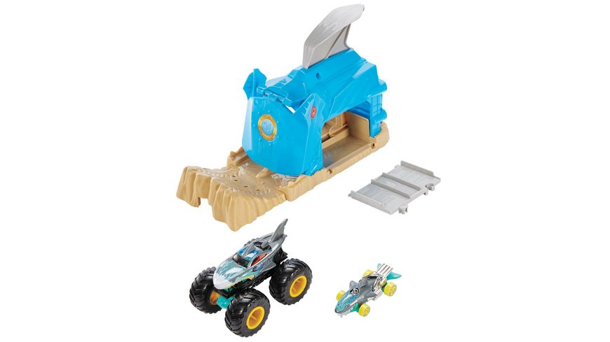 Mattel Hot Wheels Monster Trucks Startrampe Spielset 1 Stueck sortiert