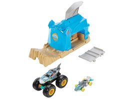 Mattel Hot Wheels Monster Trucks Startrampe Spielset 1 Stueck sortiert
