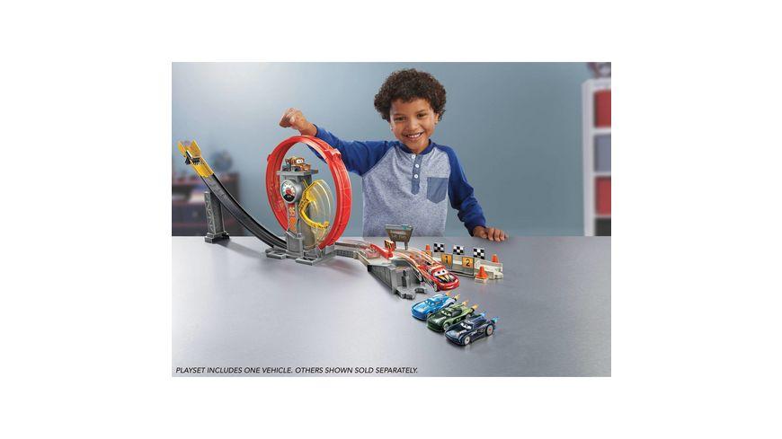 Mattel Disney Pixar Cars Xtreme Racing Serie Raketen Rennen Super Looping
