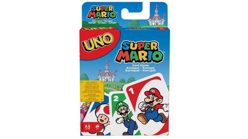 Mattel Games UNO Super Mario