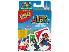 Mattel Games UNO Super Mario Kartenspiel Gesellschaftsspiel Familienspiel