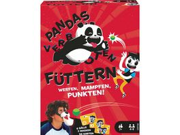 Mattel Games Pandas fuettern verboten Kinderspiel Aktionsspiel Familienspiel