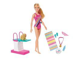 Barbie Traumvilla Abenteuer Schwimmerin Puppe