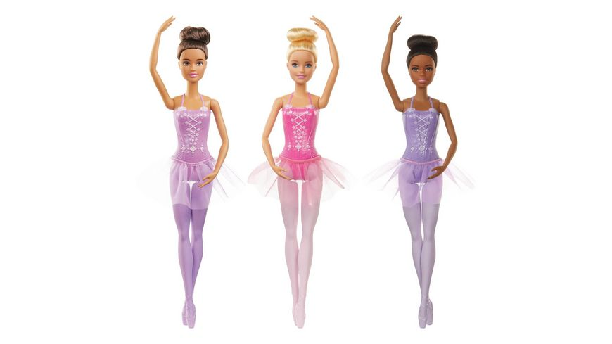 Mattel Barbie Ballerina Puppen 1 Stueck sortiert