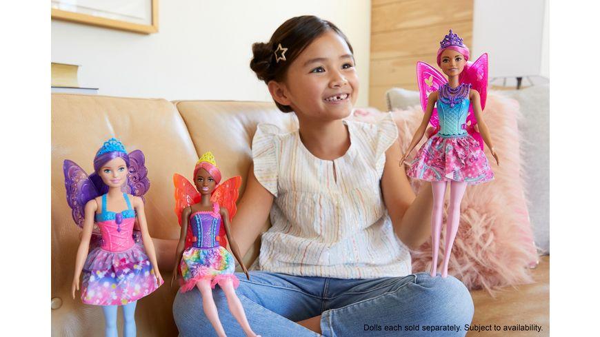 Mattel Barbie Dreamtopia Fee pinke Haare