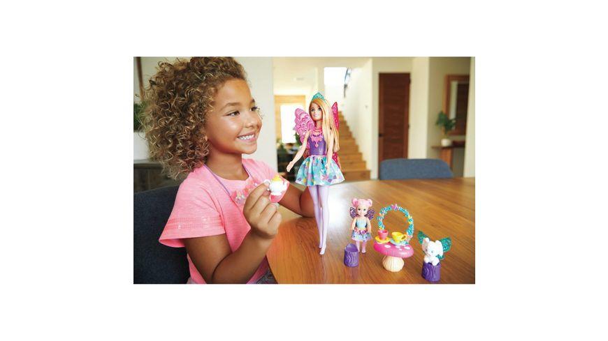Mattel Barbie Dreamtopia Teeparty Spielset und Puppe