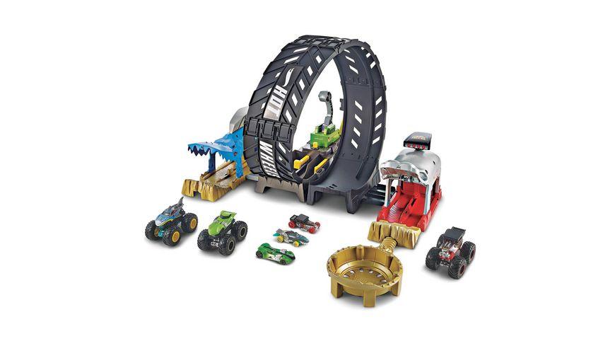 Mattel Hot Wheels Monster Trucks Looping Challenge Spielset