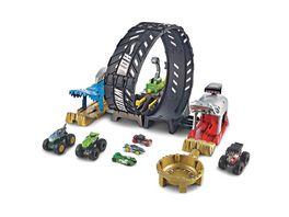 Hot Wheels Monster Trucks Looping Challenge Spielset inkl 2 Spielzeugautos