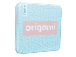 Origami Faltblaetter mit Designdose Floral 150 Faltblaetter 15x15 cm 80 g m in 5 floralen Designs mit Anleitungen fuer 10 Modelle