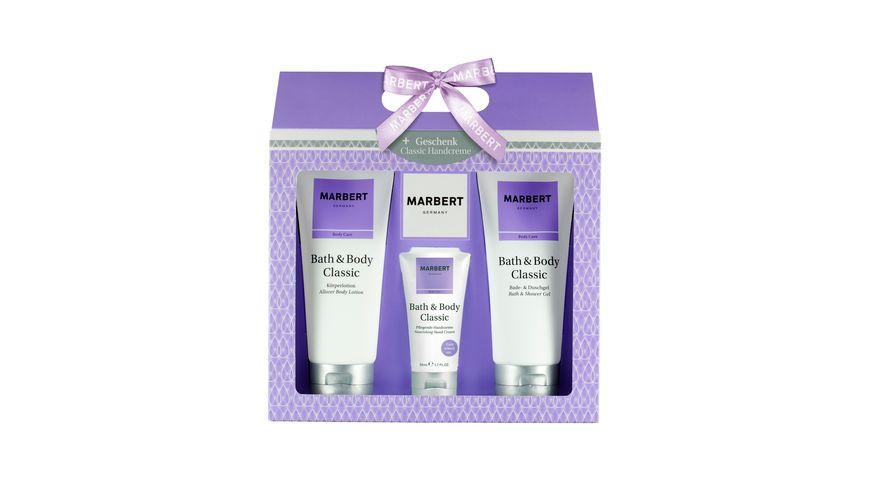 MARBERT Bath Body Classic Geschenkset