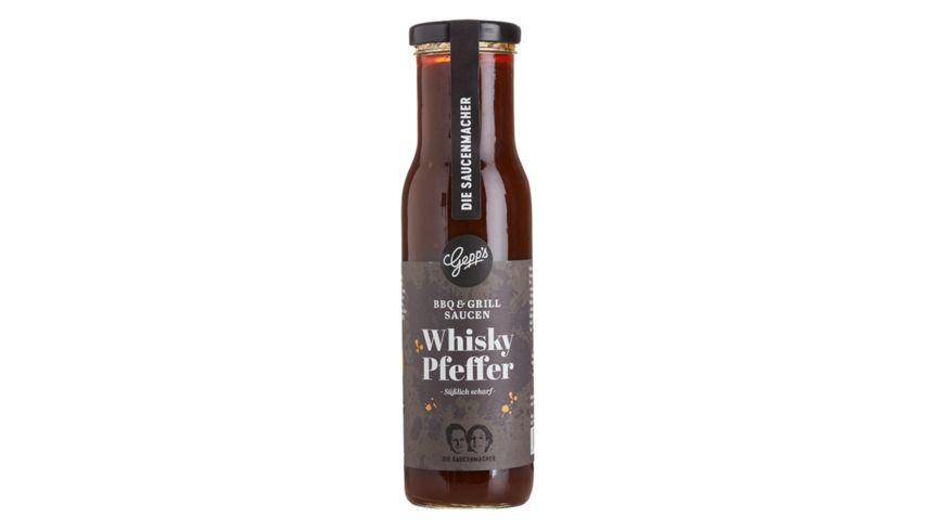 GEPP S Whisky Pfeffer Edelsauce