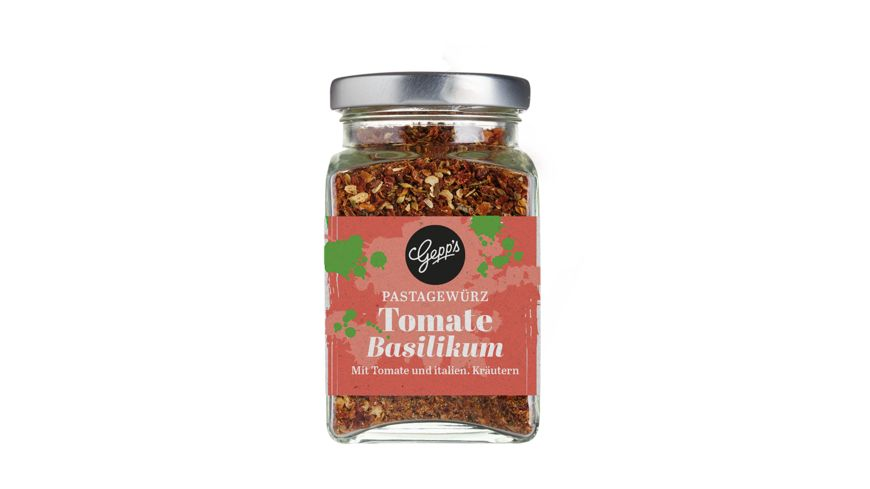 GEPP S Tomate Basilikum Pastagewuerz