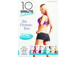 10 Minute Solution Die Fitness Box 5 DVDs