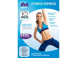 Fit for Fun 10 Minute Solution Fitness Express 5 DVDs