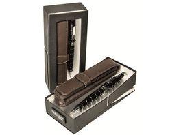 ONLINE Drehbleistift mit Etui im Set schwarz 0 9mm