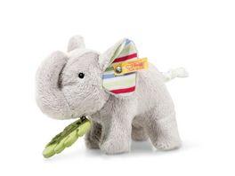 Steiff 242021 Wild Sweeties Timmi Elefant mit Beissring und Knisterfolie 17 cm