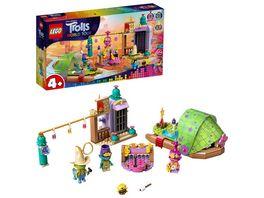 LEGO TROLLS WORLD TOUR 41253 Flossabenteuer in Einsamshausen