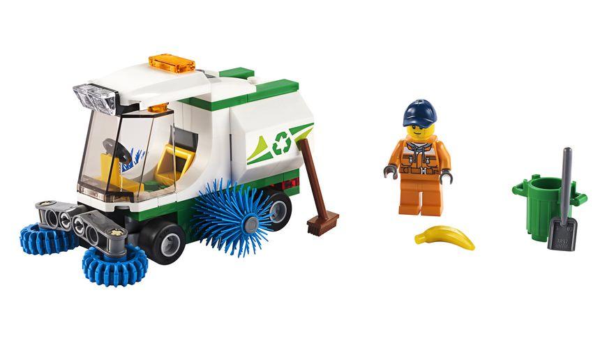 LEGO City 60249 Strassenkehrmaschine