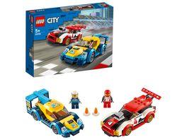 LEGO City 60256 Rennwagen Duell