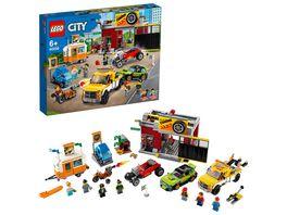 LEGO City 60258 Tuning Werkstatt
