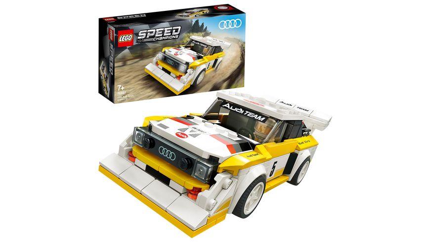 LEGO Speed Champions - 76897 1985 Audi Sport quattro S1