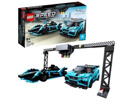 LEGO Speed Champions 76898 Formula E Panasonic Jaguar Racing GEN2 car Jaguar I PACE eTROPHY