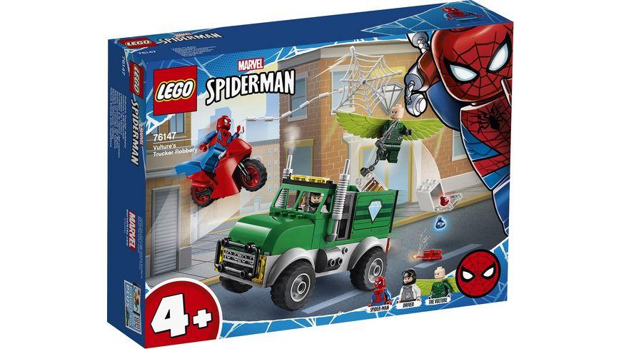 LEGO Marvel Super Heroes 76147 Vultures LKW Ueberfall