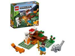 LEGO Minecraft 21162 Das Taiga Abenteuer
