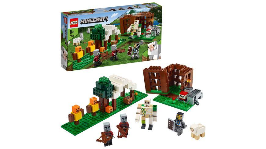 LEGO Minecraft 21159 Der Pluenderer Aussenposten