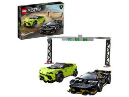 LEGO Speed Champions 76899 Lamborghini Urus ST X Lamborghini Huracan Super Trofeo EVO
