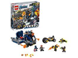 LEGO Marvel Super Heroes 76143 Avengers Truck Festnahme