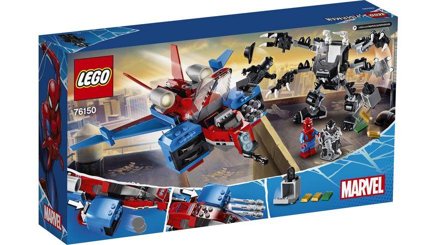 LEGO Marvel Super Heroes 76150 Spiderjet vs Venom Mech