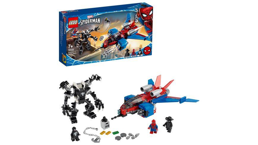 LEGO Marvel Super Heroes - 76150 Spiderjet vs. Venom Mech