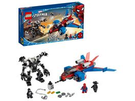 LEGO Marvel Super Heroes 76150 Spiderjet vs Venom Mech