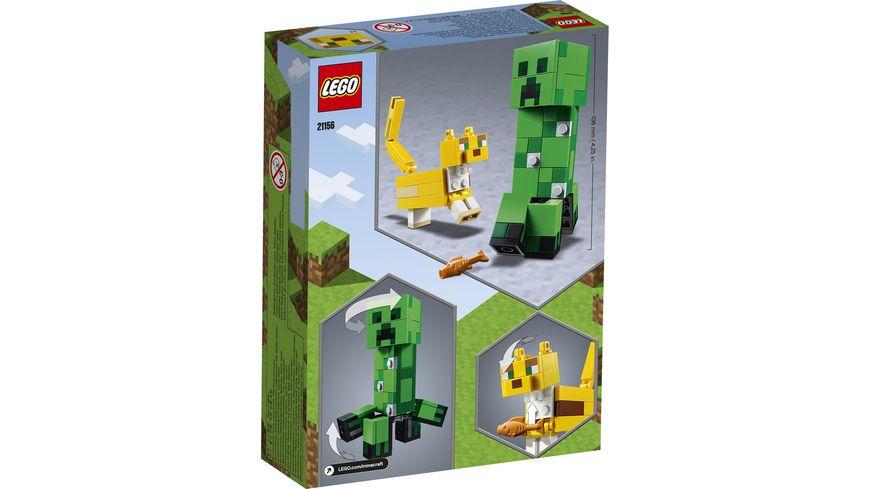 LEGO Minecraft 21156 BigFig Creeper und Ozelot