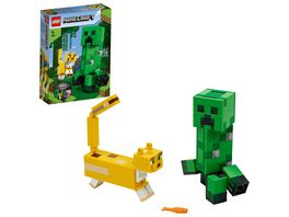 LEGO Minecraft 21156 BigFig Creeper und Ozelot